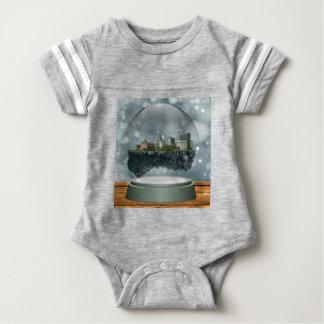 Providence Island Snow Globe Baby Bodysuit