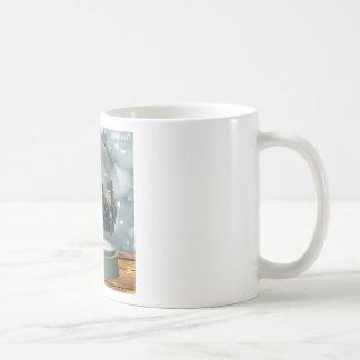 Providence Island Snow Globe Coffee Mug