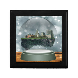 Providence Island Snow Globe Gift Box