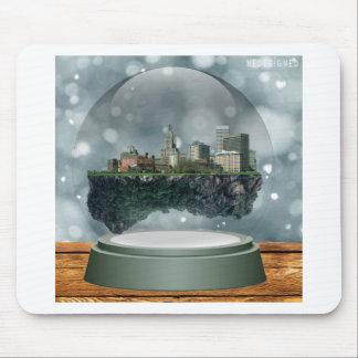 Providence Island Snow Globe Mouse Pad