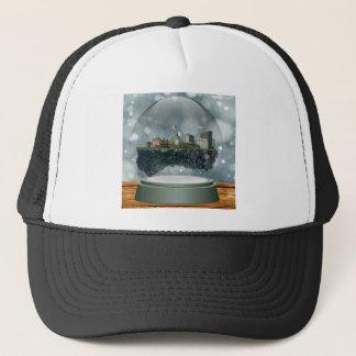 Providence Island Snow Globe Trucker Hat