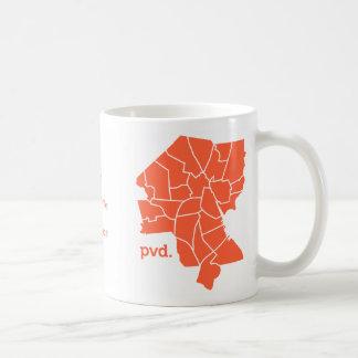 Providence Neighborhood Map Mug