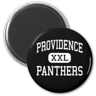 Providence - Panthers - High - Charlotte Magnet