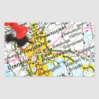 Providence, Rhode Island Rectangular Sticker