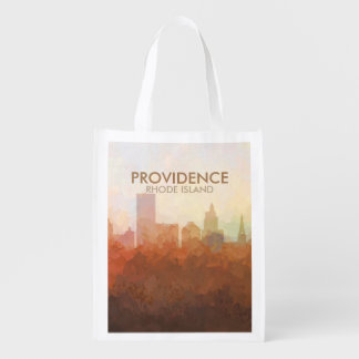 Providence, Rhode Island Skyline IN CLOUDS