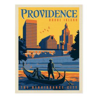 Providence, Rhode Island   The Renaissance City Postcard