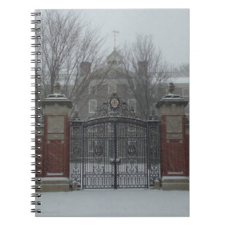 Providence, RI East Side Snow Spiral Note Books