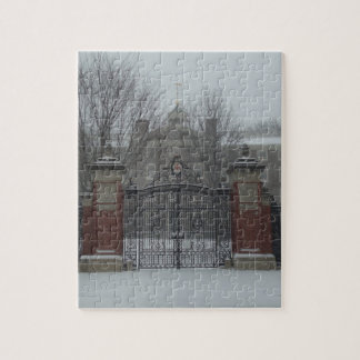 Providence, RI East Side Snow Jigsaw Puzzles