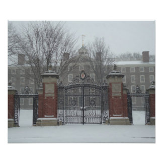Providence, RI East Side Snow Scene Photographic Print