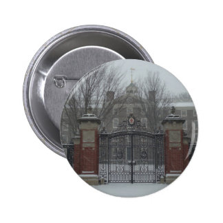 Providence, RI East Side Winter 2 Inch Round Button