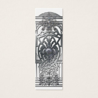 PROVIDENCE: SILVER MEDALLIONS MINI BUSINESS CARD