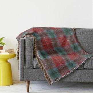 Province of British Columbia Original Tartan Throw Blanket