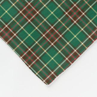 Province of Newfoundland Tartan Fleece Blanket