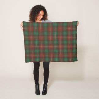 Province of Prince Edward Island Original Tartan Fleece Blanket
