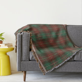 Province of Prince Edward Island Original Tartan Throw Blanket
