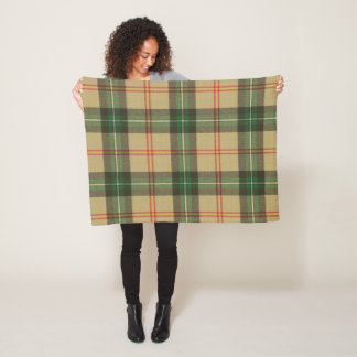 Province of Saskatchewan Original Tartan Fleece Blanket