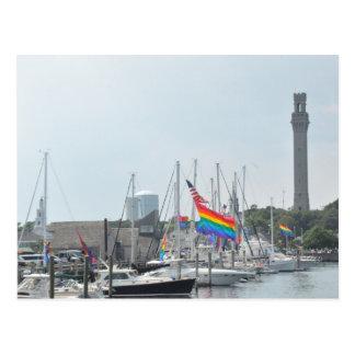 Provincetown Harbor Postcard