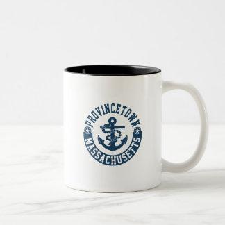 Provincetown Massachusetts Two-Tone Coffee Mug