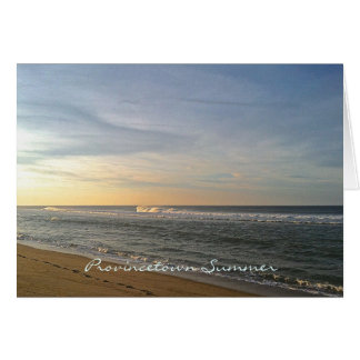 Provincetown Summer Greeting Card