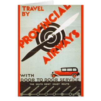 Provincial Airways Greeting Card