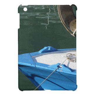 Prow of a wooden fishing boat with trawl winch iPad mini case