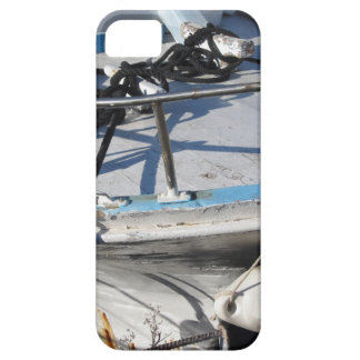 Prow of fishing boat moored in the harbor case for the iPhone 5