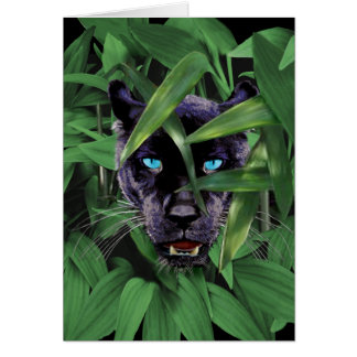 PROWLING PANTHER CARD