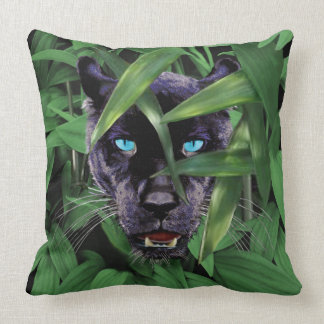 PROWLING PANTHER CUSHION