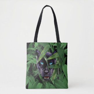 PROWLING PANTHER TOTE BAG