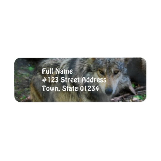Prowling Wolf  Mailing Labels