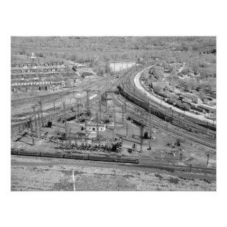 PRR Zoo Junction Custom Kodak Photo Enlargement