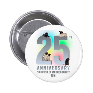 PRSDC 25th Anniversary Tees, GIfts 6 Cm Round Badge