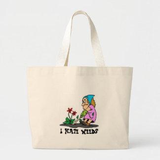 Prunning, I Hate Weeds Jumbo Tote Bag