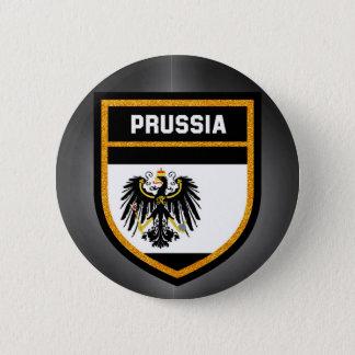 Prussia Flag 6 Cm Round Badge