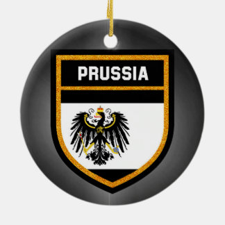 Prussia Flag Ceramic Ornament