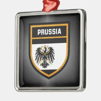 Prussia Flag Metal Ornament