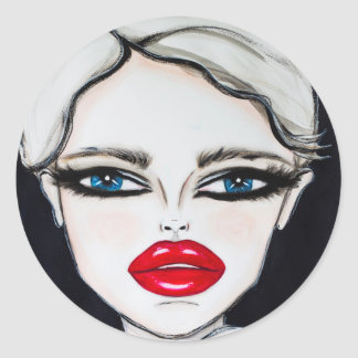 Prussian Blue - Wendy Buiter - 2016 Classic Round Sticker