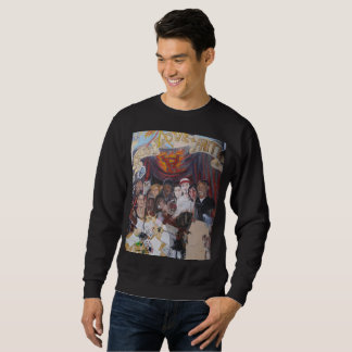 P's UNFADEABLE MURAL SWEATSHIRT(BLACK) Sweatshirt