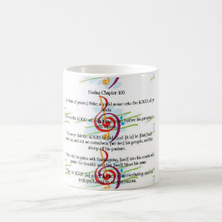 Psalm 100: Make a Joyful noise Basic White Mug