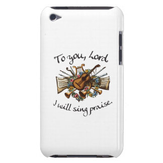 Psalm 101:1 - Vintage Musical Illustration iPod Touch Cases
