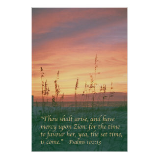 Psalm 102 print