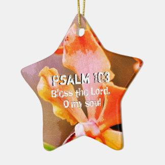 Psalm 103 Praise The Lord, My Soul Ceramic Ornament