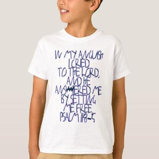 Psalm 118:5 T-Shirt