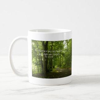 Psalm 119:105 Thy word is a lamp unto my feet Coffee Mug