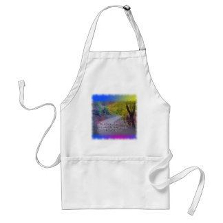 PSALM 119:105 THY WORD - LIGHT TO MY PATH - ADULT APRON