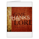 Psalm 136:1 greeting cards
