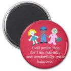 Psalm 139:14 magnet