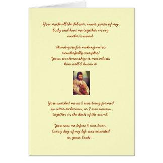 Psalm 139 Birthday Card