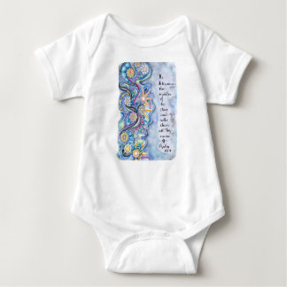 Psalm 147:4 He Calls The Stars by Name baby set Baby Bodysuit