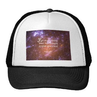 Psalm 150 6 trucker hat